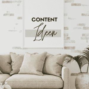 Social Media Support -Content Ideen